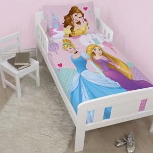 Princess Cinderella & Rapunzel Dekbed 120x150cm