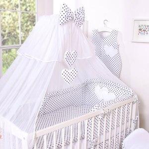 My Sweet Baby Hemeltje Voile Dots/Zwart