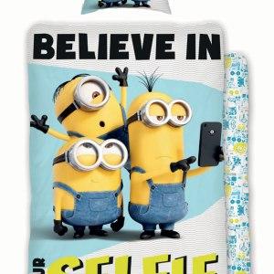 Minions Dekbedovertrek Selfie