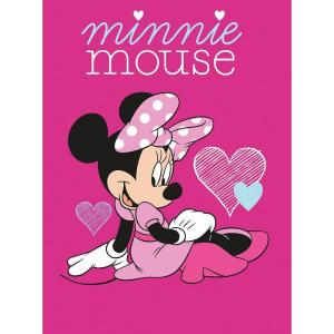 Strandlaken Minnie Mouse Hart