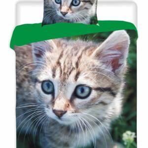 A-Keuze - Dekbedovertrek Photo Kitten