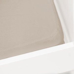 Briljant Hoeslaken Jersey 60x120cm Taupe