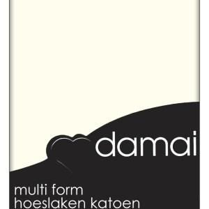 A-Keuze - Hoeslaken Multiform Damai Cream (Katoen)-160/180 x 200/210 cm