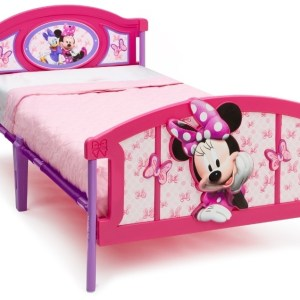 Minnie Mouse Bed 3D