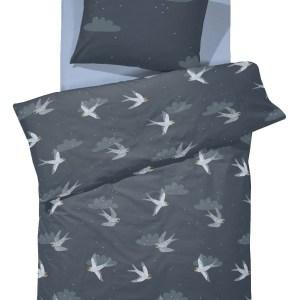 Damai Dekbedovertrek Birdy Night Blue Junior