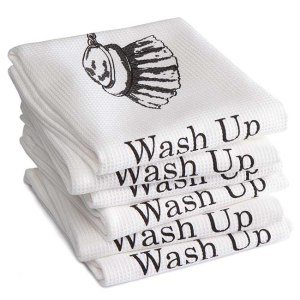 DDDDD Theedoek Wash up White (6 stuks)