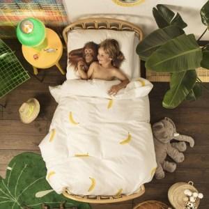 Snurk Junior Dekbedovertrek Banana Monkey
