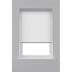 Decosol Rolgordijn Lichtdoorlatend - Helder Wit 60 x 190 cm