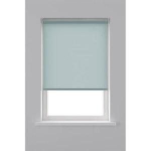 Decosol Rolgordijn Lichtdoorlatend - Licht Blauw 60 x 190 cm