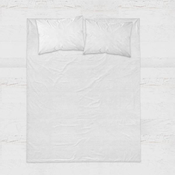 DreamHouse Bedding Hoeslaken Katoen - Wit 180 x 220