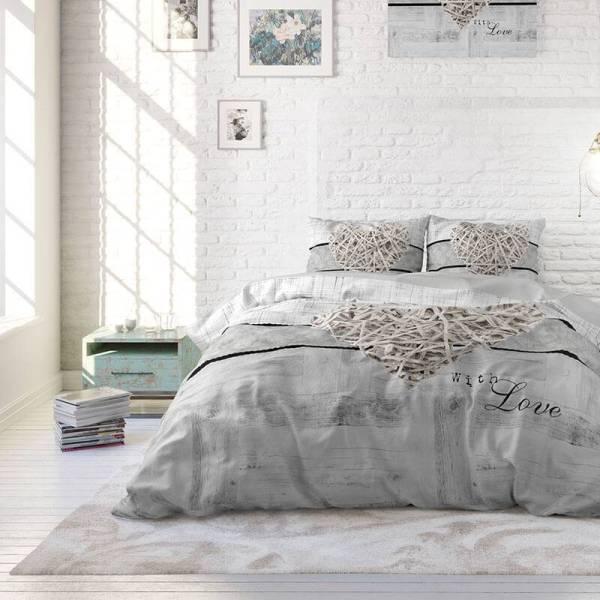 Kingsize Bedding 2-PACK: Kingsize Boxkussens - Katoen 50 x 60 x 10 cm