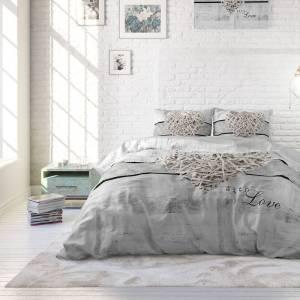 Home Care Hoeslaken - Blended Katoen - Grijs 160 x 200