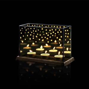 Candle Lights Mirror Glass L
