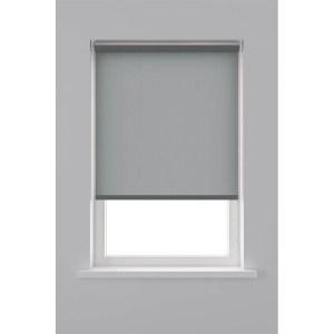 Decosol Rolgordijn Lichtdoorlatend - Antraciet 120 x 190 cm