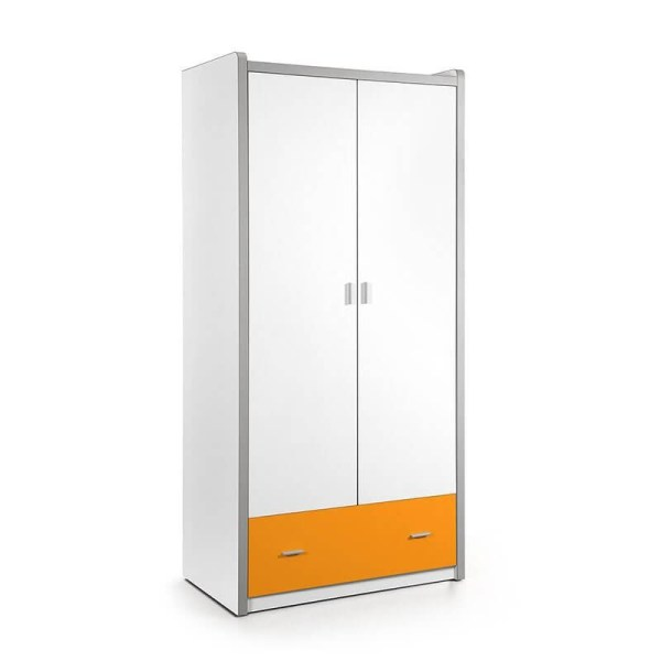 Vipack Bonny - Kledingkast 2 deurs Kleur: Oranje