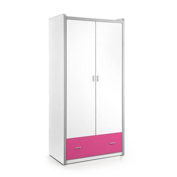 Vipack Bonny - Kledingkast 2 deurs Kleur: Fuchsia