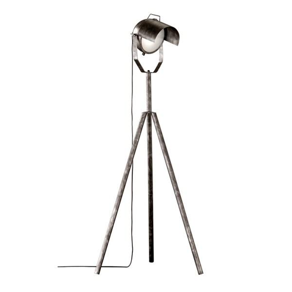 Trio Vloerlamp No.5 - Metaal - Antiek Zilver