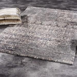 Vloerkleed Juwel Silenta - Bruin 65 x 130 cm