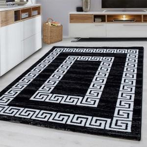 Toscana Vloerkleed Neo Classic - Zwart - Rechthoek 160 x 230 cm