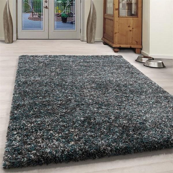 Vloerkleed - Obe - Rechthoek - Blauw Enjoy Effen 60 x 110 cm - Ga naar Dekbed-Discounter.nl & Profiteer Nu