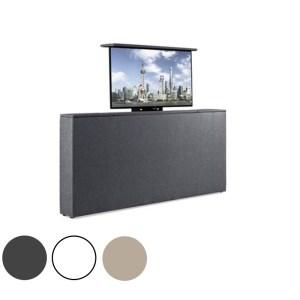 Voetbord Met TV-Lift - PU leer 140 cm