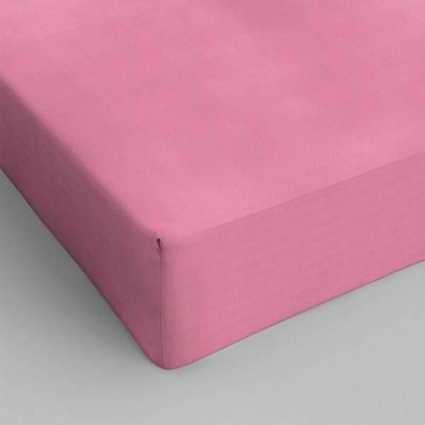 DreamHouse Bedding Hoeslaken Katoen - Roze 120 x 200