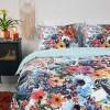 Fresh & Co Floral Watercolor 1-persoons (140 x 200/220 cm + 1 kussensloop) Dekbedovertrek