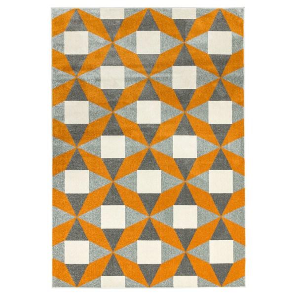 Vloerkleed Colt - Fan Orange Easy Living 120 x 170 cm - Ga naar Dekbed-Discounter.nl & Profiteer Nu