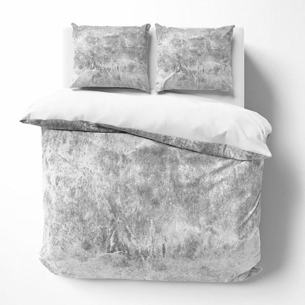 Dekbedovertrek Marblelicious 1-persoons (140x220 cm) - KatoenKatoen-satijnKatoen - Patroon
