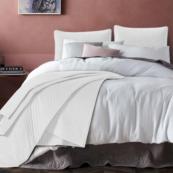 Texas - Wit DreamHouse Bedding Effen 180 x 250 + 1 kussensloop - Ga naar Dekbed-Discounter.nl & Profiteer Nu