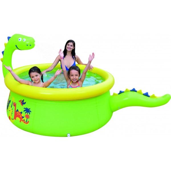 Mascot Online Opblaasbaar Zwembad - Dino