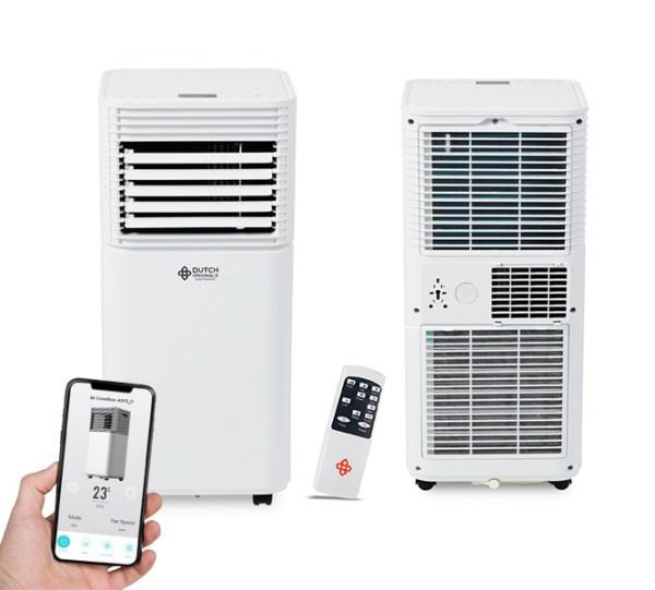 Mobiele Smart Airconditioner - Tot 30 m² Dutch Originals 9.000 BTU - Ga naar Dekbed-Discounter.nl & Profiteer Nu