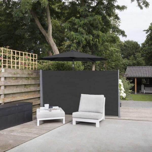 Oprolbaar Windscherm Zwart - 170 x 300 cm 909 Outdoor - Ga naar Dekbed-Discounter.nl & Profiteer Nu