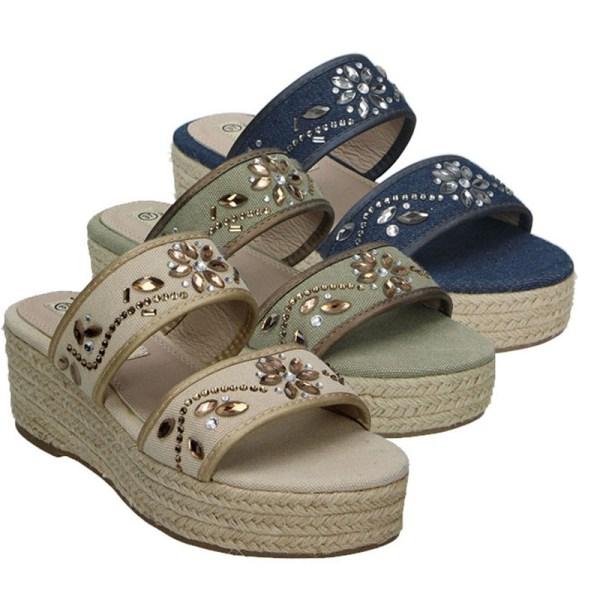Dames Sandalen met Hoge Hak Claudia Ghizzani Maat 36