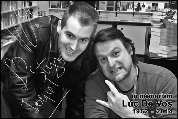 Stijn Michels en Luc De Vos