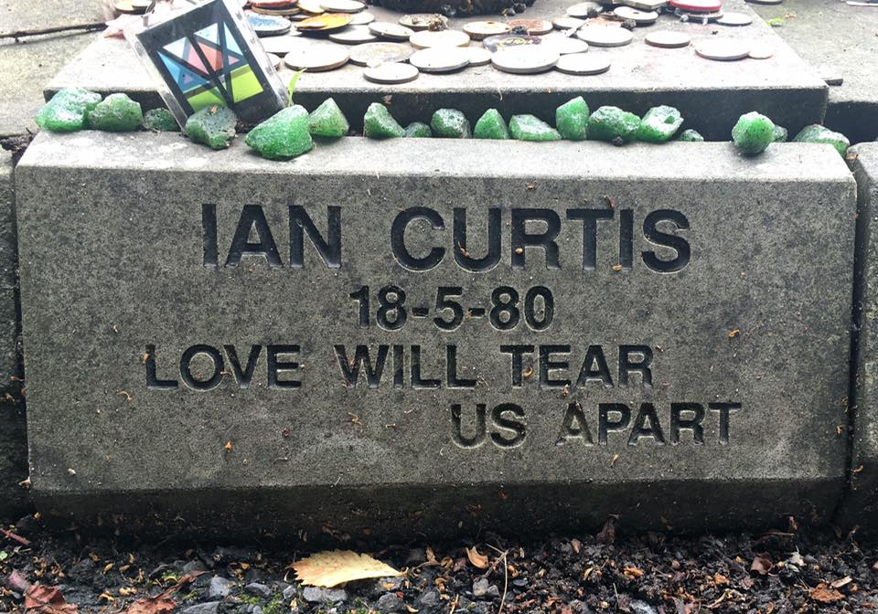 Ian Curtis is gecremeerd