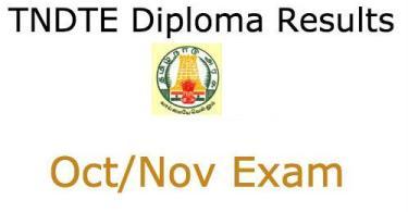 TNDTE Diploma Results 2015 Check Tamil Nadu Polytechnic Result Oct Nov 2015 @ www.tndte.com