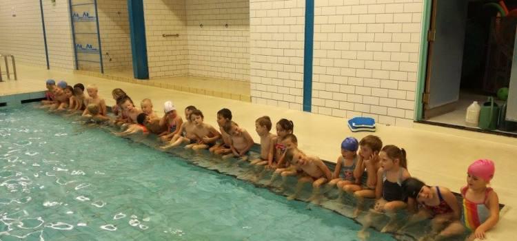 Eerste zwemles K3