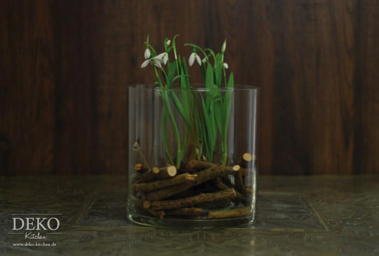 DIY ausgefallene Blumendeko fr den Frhling schnell