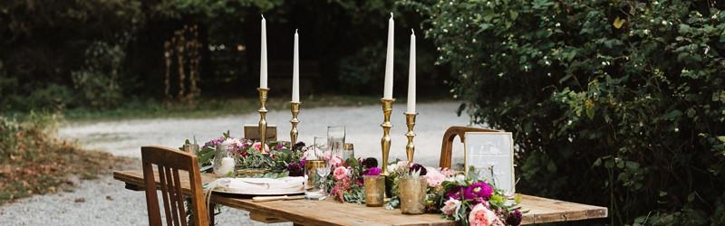 Kerzenstnder und Kerzenleuchter mieten fr Hochzeit und Event  Dekoanddesign  Mietservice