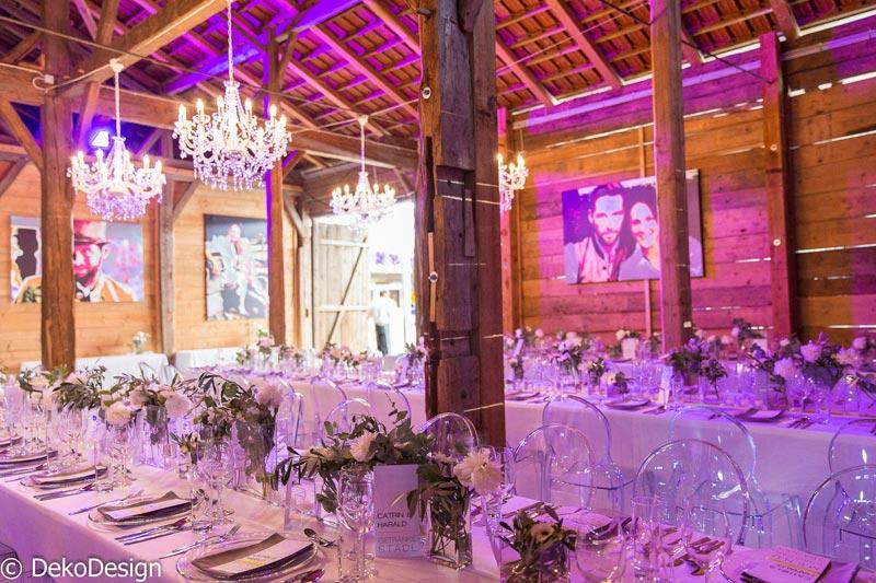 Hochzeit  Alte Scheune Mhldorf  Deko Design GmbH