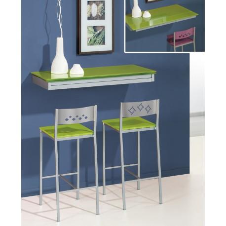 Mesa de cocina de pared extensible Cool