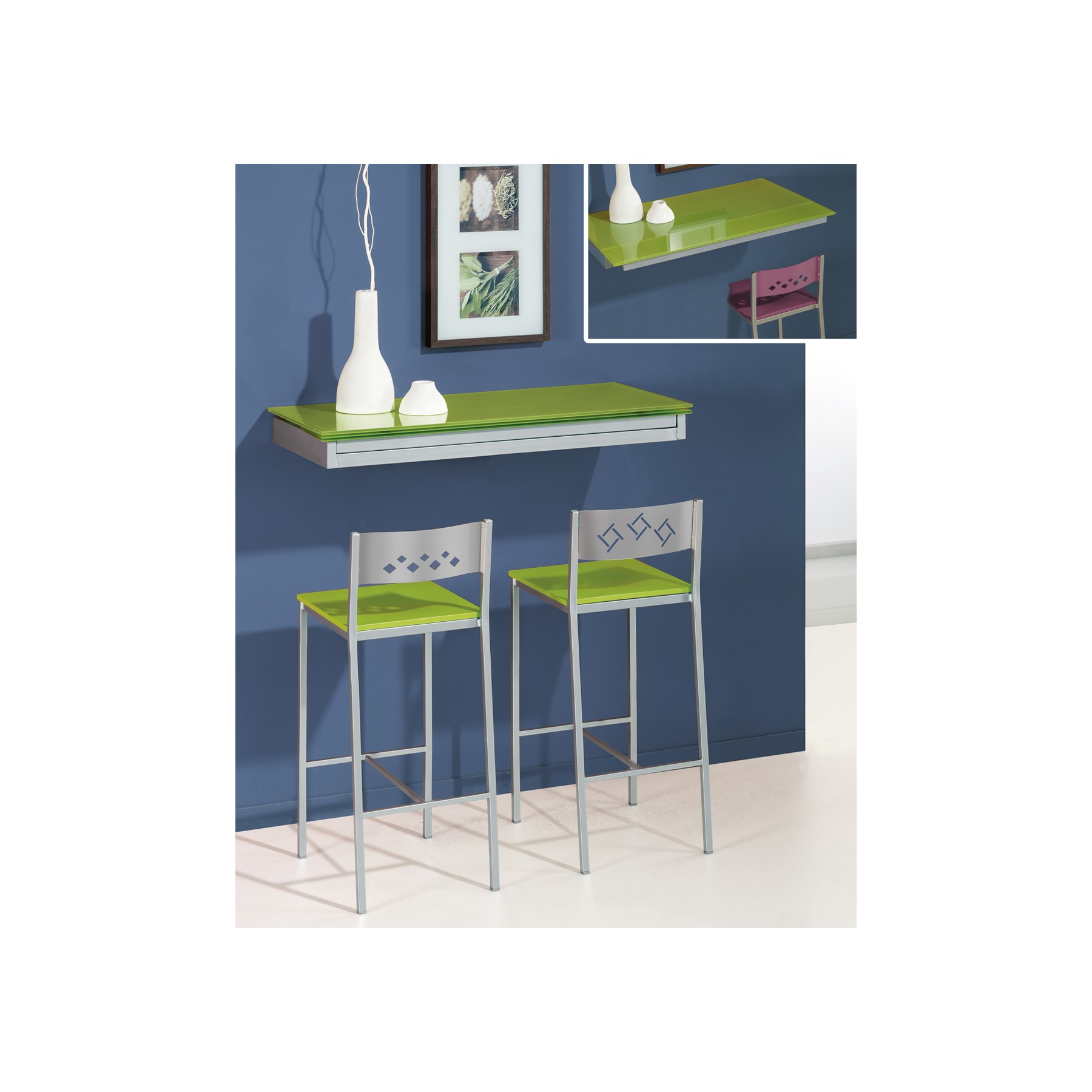 Mesa Extensible Pared
