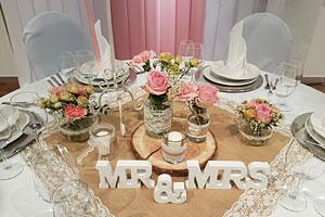 Hochzeitsdekoration mieten  Gnstige Hochzeitsdeko  Deko Point