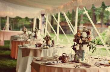 Kır Düğünü Dekorasyon Fikirleri