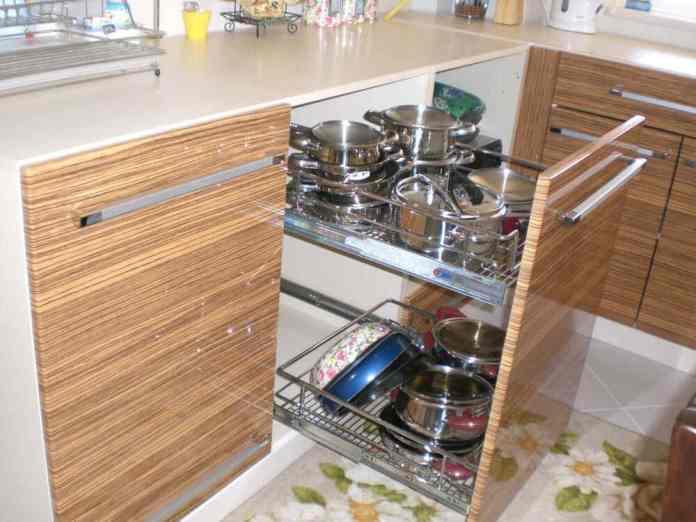 Mutfak depolama çözümleri
