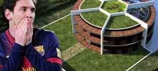 Messi'nin Evi Görenleri Hayrete Düşürüyor!