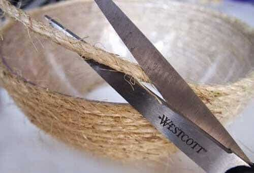 Hasır sepet yapımı