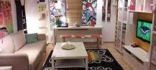 30 Harika IKEA Oturma Odası Dekorasyonu