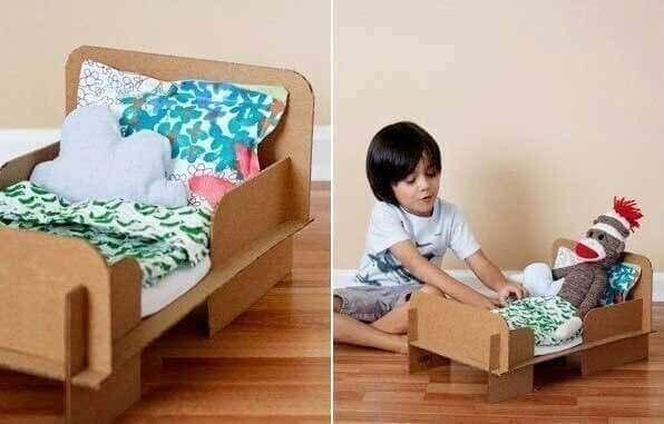 Bebek yatağı yapılışı